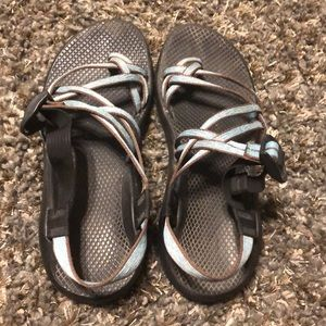 Women's Chaco dual strap with toe strap